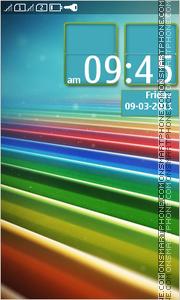 Colorful Stripes Theme-Screenshot