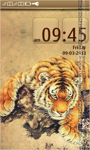 Tiger 60 tema screenshot