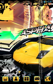 Asphalt Urban GT theme screenshot