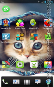 Kitten 16 Theme-Screenshot