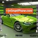 Bmw Green Z4 es el tema de pantalla