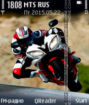 Скриншот темы Biker