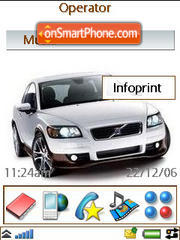 Volvo C30 T5 theme screenshot
