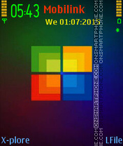 Window mc tema screenshot