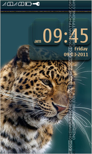 Leopard 08 Theme-Screenshot
