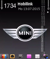 Mini Logo theme screenshot