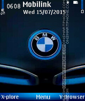 Bmw logo theme screenshot