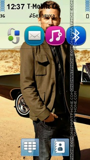 Paul Walker 03 tema screenshot