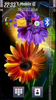 HD Nokia Theme tema screenshot