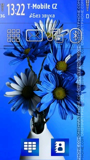 Flowers 05 tema screenshot