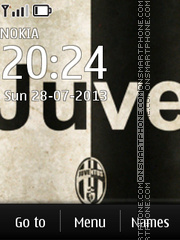 FC Juventus 02 theme screenshot