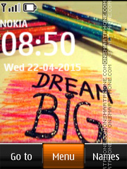 Big Dream 01 es el tema de pantalla