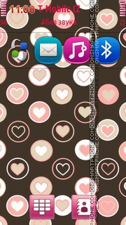 Pink Hearts 07 Theme-Screenshot