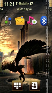 Angel 30 tema screenshot