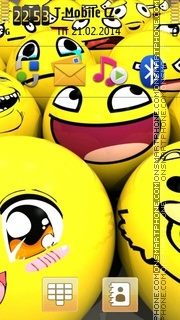 Smiley 12 Theme-Screenshot