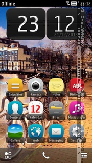 Amsterdam, Holland tema screenshot