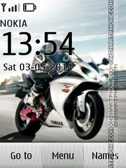 Honda CBR 601 theme screenshot