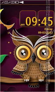 Owl 05 tema screenshot