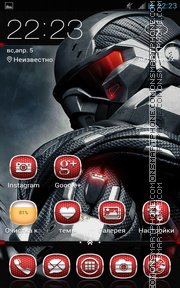 Crysis 04 theme screenshot