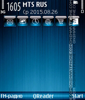 Скриншот темы NiceFon