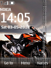 Sport Bike 03 tema screenshot