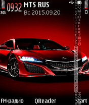 Acura theme screenshot