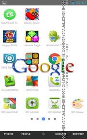 Google 09 tema screenshot