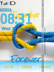 Together Forever 19 es el tema de pantalla