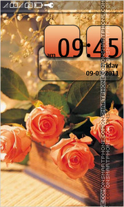 Roses 10 theme screenshot