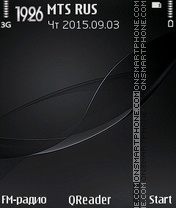 Black-Wave theme screenshot