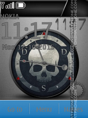 Skull theme screenshot