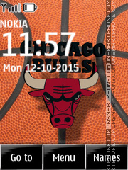 Chicago Bulls 07 theme screenshot