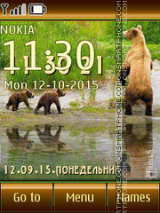 Bears 04 tema screenshot