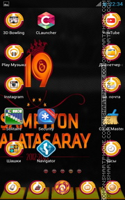 Galatasaray FC 02 tema screenshot