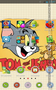 Capture d'écran Tom and Jerry 12 thème