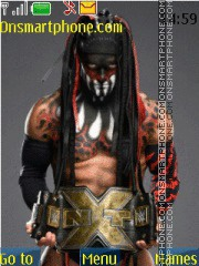 WWE Finn Balor NXT Title tema screenshot