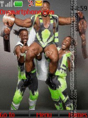 WWE The New Day tema screenshot