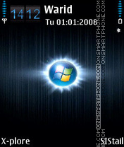 Window blue2 theme screenshot