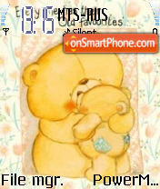 Forever Friends 01 es el tema de pantalla
