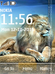 Скриншот темы Lion 01