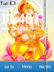 Lord Ganesha 10 theme screenshot