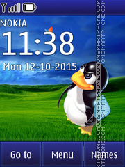 Linux vs Windows 01 theme screenshot