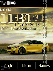 BMW M4 tema screenshot