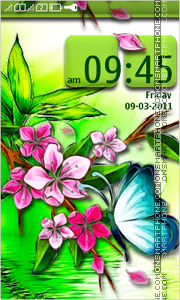 Butterfly 41 theme screenshot