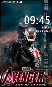Avengers Age of Ultron 01 tema screenshot