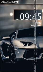 Lamborghini Aventador 02 theme screenshot