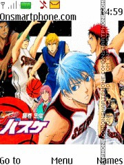 Kuroko no Basket theme screenshot
