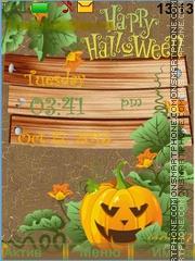Capture d'écran Halloween thème