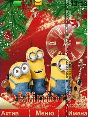 Minions tema screenshot
