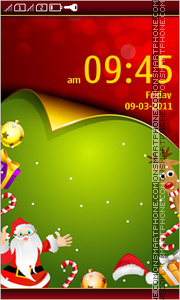 Christmas Day 03 tema screenshot